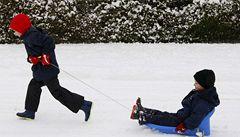 Bezpečí dítěte při zimních sportech souvisí i s jeho zrakem